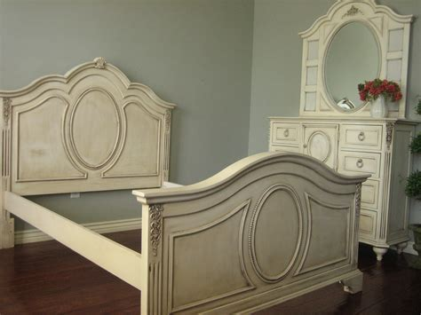 Cottage Chic Furniture European Paint Finishes Shabby Bedroom Set