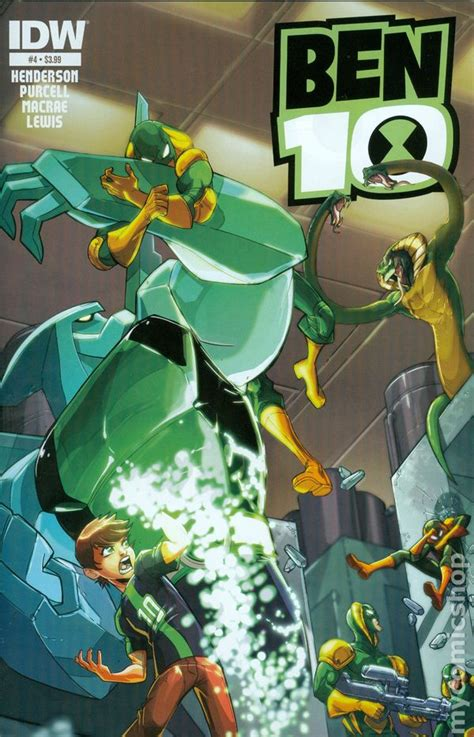 ben   idw comic books