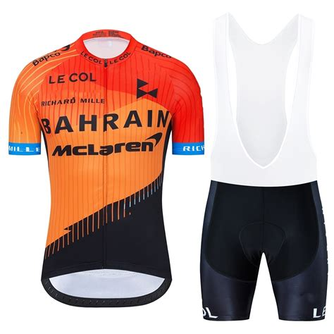 New Bahrain Mclaren Cycling Suit 2020 Pro Team Shirts ...