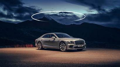 Bentley Flying Spur 4k Silver Extreme Wallpapers