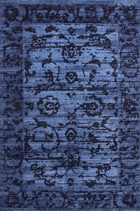 tapis d entr 233 e vintage bleu vista iii lalee