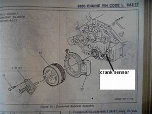 Crank Position Sensor Location On 3800 V6 Buick Engine
