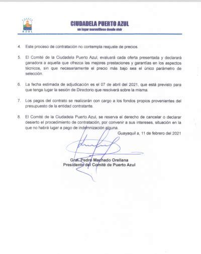 Comite Puerto Azul