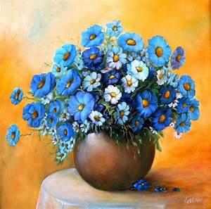ölgemälde Blumen In Vase : blumen und stillleben teil2 ~ Orissabook.com Haus und Dekorationen