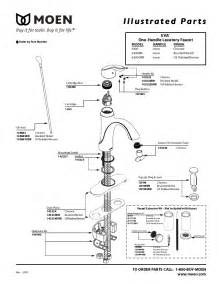 moen one handle kitchen faucet repair moen plumbing product 6400 user 39 s guide manualsonline com