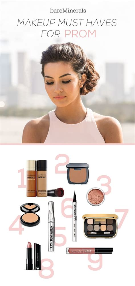 glam  prom   makeup  haves  mix