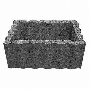 Pflanzkübel Eckig Beton : pflanzstein rasterstein anthrazit 60 x 40 x 25 cm beton bauhaus ~ Sanjose-hotels-ca.com Haus und Dekorationen
