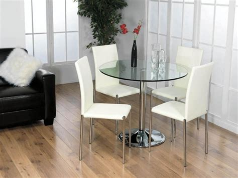 glass dining tables  oak legs dining