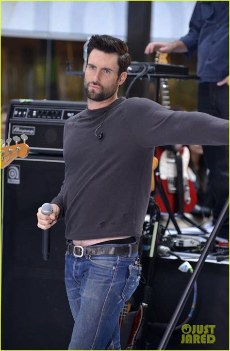 adam levine maroon  today performances