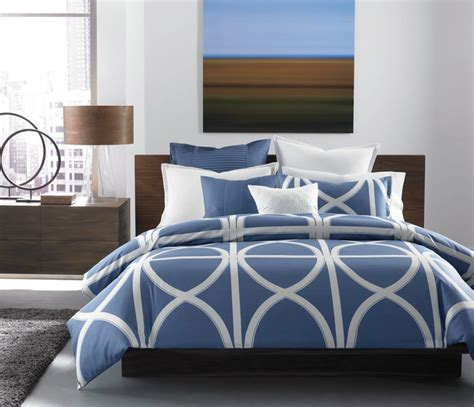 Navy Buffalo Check Curtains by Hotel Collection Bedding Transom Blue Contemporary