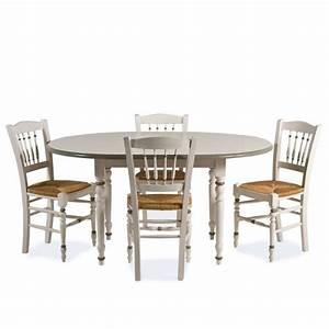 Solde Table A Manger : table a manger ronde avec rallonge ~ Teatrodelosmanantiales.com Idées de Décoration