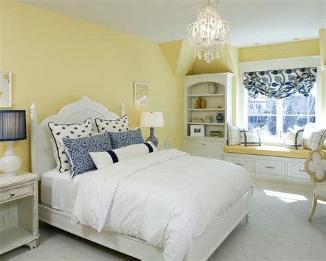 love  blue yellow bedroom design pictures