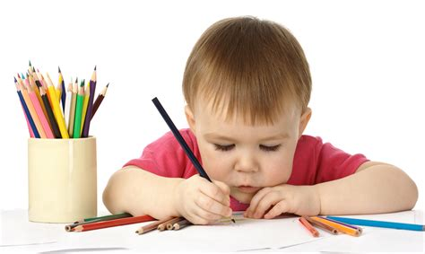Child Drawing To Develop Fine Motor Skills Day 2 Day