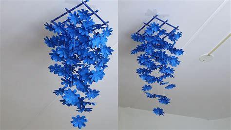 diy simple home decor paper flower diy wall decor ideas