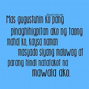Tagalog Sad Love Quotes For Him. QuotesGram