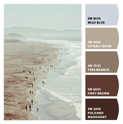 surf muted pale light aqua blues warm and cool