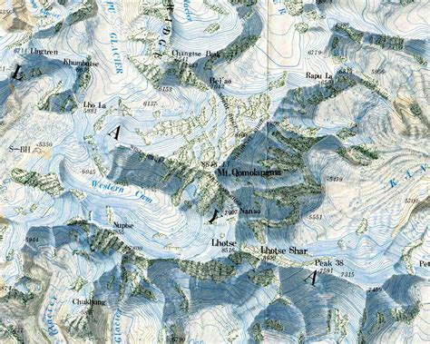Online Maps Mount Everest Maps