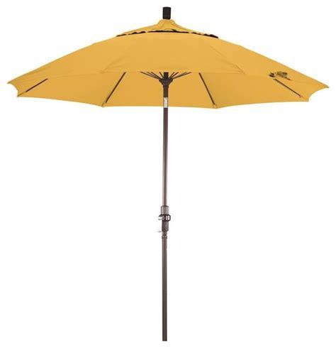7 5 ft market patio umbrella in yellow contemporary