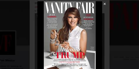 Melania Trump appears to be EATING jewels like pasta in the most awkward Vanity Fair cover ever... and people are taking the mick