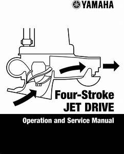 Yamaha Outboard F40b  Jet Drive  Service Manual