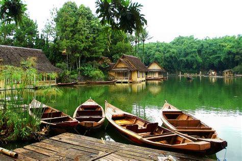 world tourism kampung sampireun garut west java