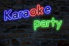 Karaoke Party Royalty Free Stock Image