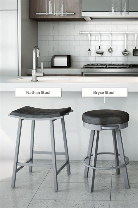 buy amisco nathan modern saddle bar stools barstool comforts