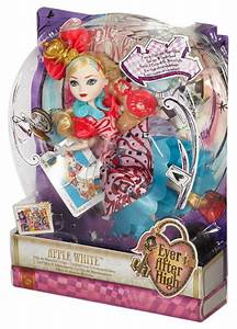 Ever After High Way Too Wonderland Apple White Doll : Target
