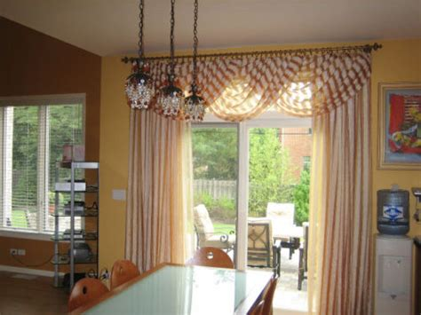 patio door window treatments the decorators