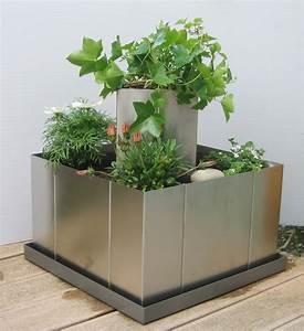 Boden Für Terrasse : garten im quadrat hochbeet mit boden pflanzgef mit ~ Michelbontemps.com Haus und Dekorationen