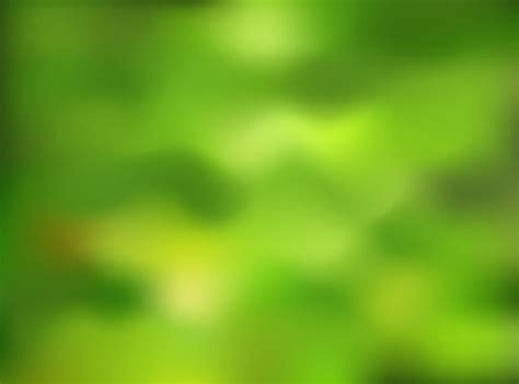 Blurry Green Nature Background - Free Vector