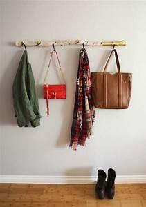 Porte Manteau Arbre Ikea : porte manteau mural diy en 18 exemples vintage ~ Dailycaller-alerts.com Idées de Décoration
