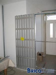 pose d39une porte coulissante With comment poser des portes coulissantes