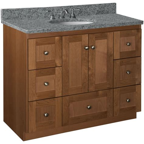 42 Bathroom Vanities - simplicity by strasser shaker 42 in w x 21 in d x 34 5