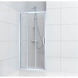 Porte Coulissante Douche : porte de douche coulissante 100 cm transparent charm ~ Melissatoandfro.com Idées de Décoration