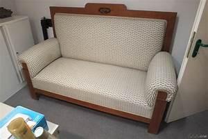 Sofa Mit Hoher Lehne : sofa jugendstil 180 cm breit mit hoher lehne neu bezogen art deco ebay ~ Frokenaadalensverden.com Haus und Dekorationen