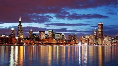 Chicago Skyline 4k Desktop