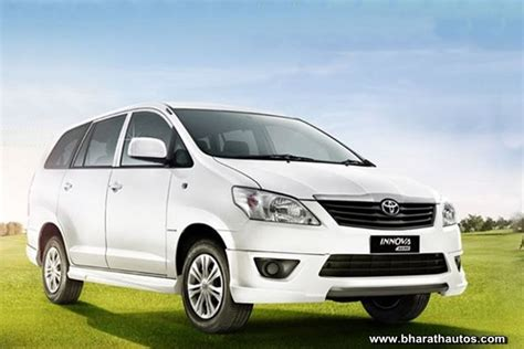 toyota innova aero limited edition launched at rs 12 25 lakh