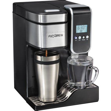 The cord is great, it perks quickly and its such a pretty addition for your kitchen. Hamilton Beach FlexBrew Programmable Single-Serve Coffee Maker with Hot Water Dispenser   Model ...