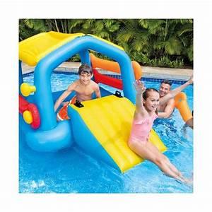 Auto Rutsche Kinder : intex 58294 aufblasbare schwimminsel mit rutsche f r kinder ~ Frokenaadalensverden.com Haus und Dekorationen