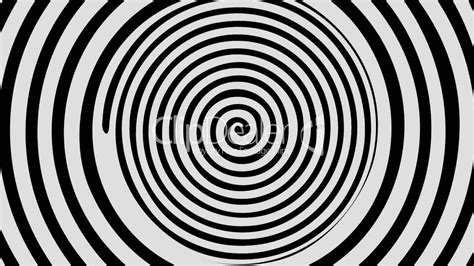 Optical Illusion Target Tunnel Retro Spiral Hypnosis