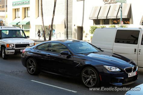 Bmw M6 Spotted In Beverly Hills, California On 11012013