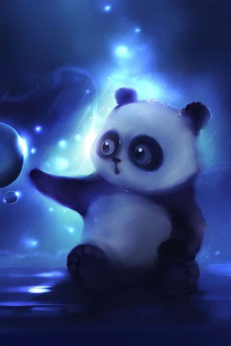 bubbles cute panda wallpaper panda