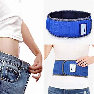 Electric Tummy Slimming Belly Fat Burner Lose Weight Fitness Massage Belt Hot Li