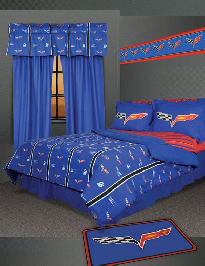 Cool Corvette Themed Bedding Sets Cozybeddingsets