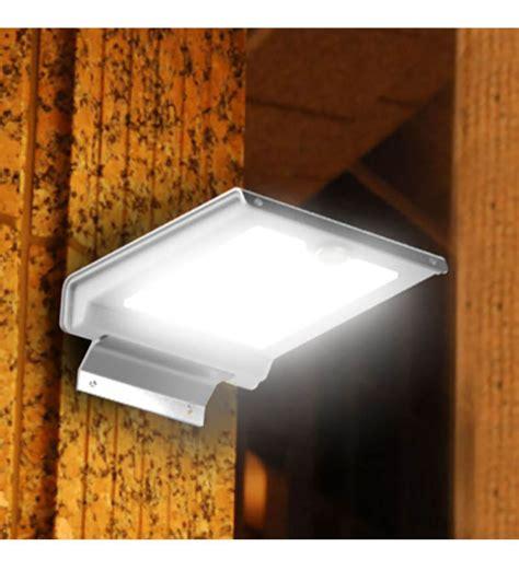 quace solar wall light with motion sensor by quace online