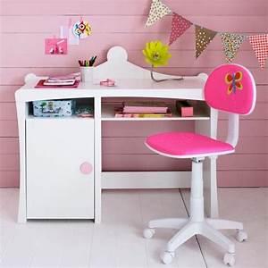 Bureau Enfant Fille : chambre d 39 enfant 20 bureaux trop mimi pour petites filles bureau princess fly d co ~ Teatrodelosmanantiales.com Idées de Décoration