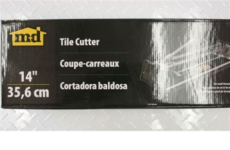 md tile cutter 49194 m d building products 49194 14 inch tile cutter hardware