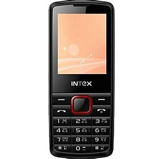 Auto Recording Mobile Phone by Intex Dual Sim Mobile With Auto Call Record
