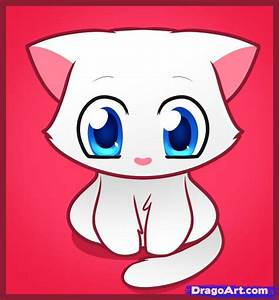 Cute Kitten Drawings Easy - Sex Porn Images